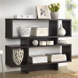 Cassidy 4-level Bookshelf in Espresso