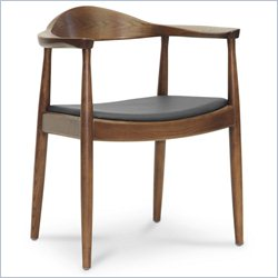 Embick Dining Chair in Dark Brown