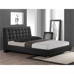 Zeller Queen Bed in Black