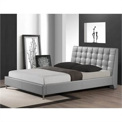 Zeller Queen Bed in Gray