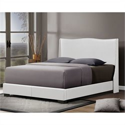 Duncombe Queen Bed in White