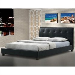 Hauten Platform Bed in Black