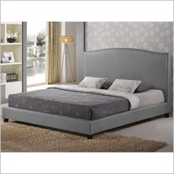 Aisling Platform Bed in grey