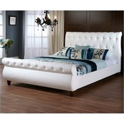 Ashenhurst Sleigh Bed in White