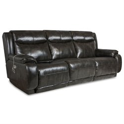 Velocity Double Reclining Sofa in Soft Touch Dusk