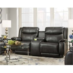 Velocity Double Reclining Loveseat in Hemmingway Slate