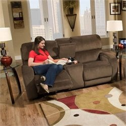 Avalon Double Reclining Loveseat in Night Party Coffee