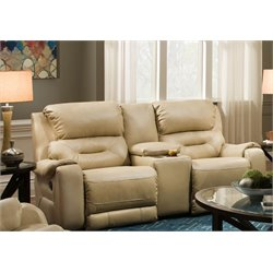 Sting Double Reclining Console Loveseat (2)