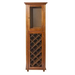 Wine Rack Cabinet in Mahogany