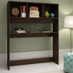 Manhattan Comfort Aosta Display Desk with 4 Shelves