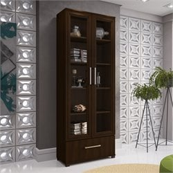 Manhattan Comfort Serra 5 Shelf Bookcase
