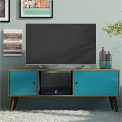 Manhattan Comfort Varberg Splayed Leg TV Stand