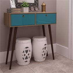 Manhattan Comfort Onsoala Splayed Leg Console