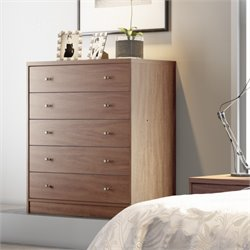 Manhattan Comfort Astor Modern Dresser with 5 Drawers