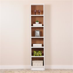 Manhattan Comfort Greenwich Venti 6 Shelf Bookcase