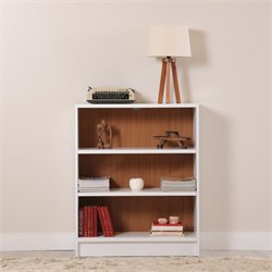 Manhattan Comfort Greenwich Grande 3 Shelf Bookcase