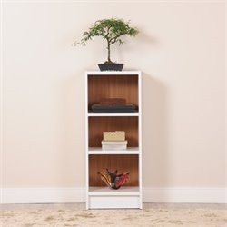 Manhattan Comfort Greenwich Tall 3 Shelf Bookcase