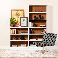 Manhattan Comfort Greenwich 2 Piece Bookcase Set 1