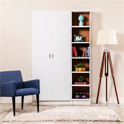 Manhattan Comfort Greenwich 2 Piece Bookcase Set 3