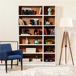 Manhattan Comfort Greenwich 2 Piece Bookcase Set 4