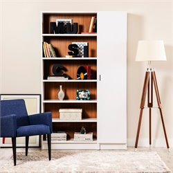 Manhattan Comfort Greenwich 2 Piece Bookcase Set 5