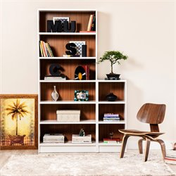 Manhattan Comfort Greenwich 2 Piece Bookcase Set 6