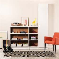 Manhattan Comfort Greenwich 3 Piece Bookcase Set 1