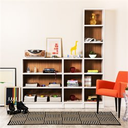 Manhattan Comfort Greenwich 3 Piece Bookcase Set 2