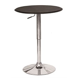 Manhattan Comfort Steegie Bar Table in Black