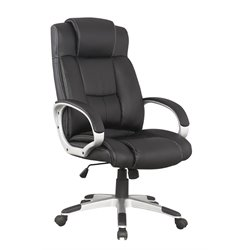 Manhattan Comfort Washington Office Chair in Black