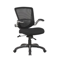 Manhattan Comfort Walden Ergonomic Office Chair in Black