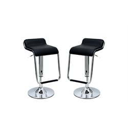 Manhattan Comfort Sophisticated Horatio Barstool (Set of 2)