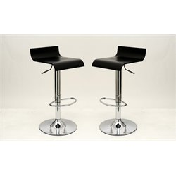 Manhattan Comfort Ludlow Adjustable Barstool (Set of 2)