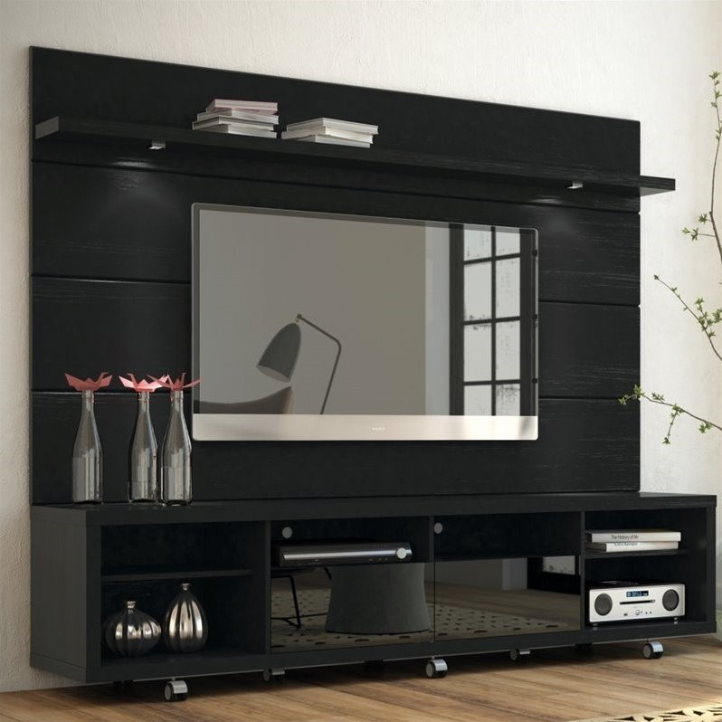Manhattan comfort cabrini 2 2 series 85 tv stand and - Dresser as tv stand in living room ...