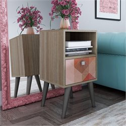 Manhattan Comfort Abisko End Table