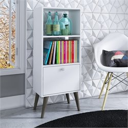 Manhattan Comfort Sami 2 Shelf Bookcase