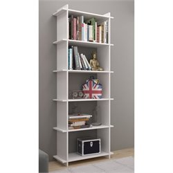 Manhattan Comfort Gisborne 2.0 Series 5 Shelf Bookcase