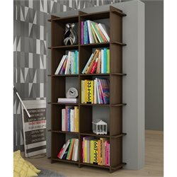 Manhattan Comfort Gisborne 1.0 Series 10 Shelf Bookcase