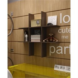 Manhattan Comfort Taranaki Wall Display Shelf