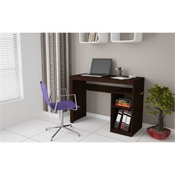 Manhattan Comfort Aosta Writing Desk in Tobacco