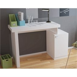 Manhattan Comfort Bagno Writing Desk in White