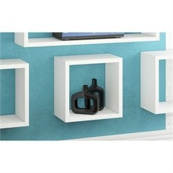 Manhattan Comfort Sahara Wall Display Shelf