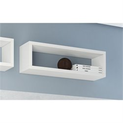 Manhattan Comfort Tichla Wall Display Shelf