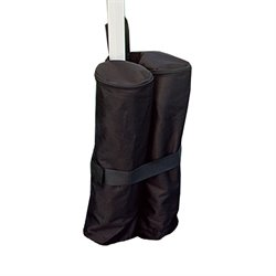 King Canopy 4 Piece Weight Bags in Black