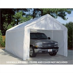King Canopy 10' x 20' Canopy Sidewall Kit with Flaps