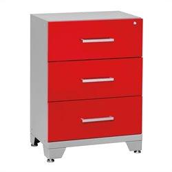 Newage Performance Series Tool Storage Garage Cabinet in Red