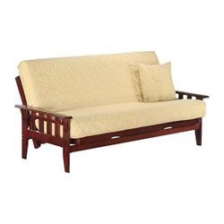Night and Day Kingston Wood Full Futon Frame in Rosewood