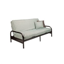 Night and Day Emma Metal Wood Futon