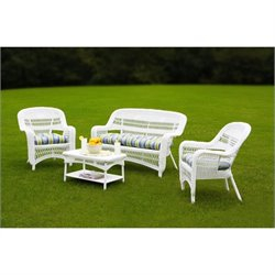Tortuga Portside 4 Piece Outdoor Sofa Set