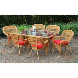 Tortuga Portside 7 Piece Patio Dining Set